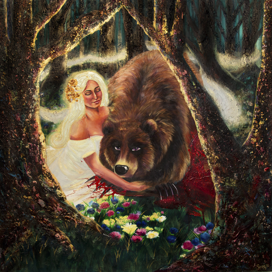 Snow White Meets the Bear