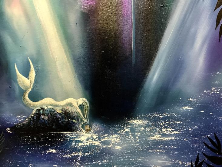 Mermaid Lagoon (detail)