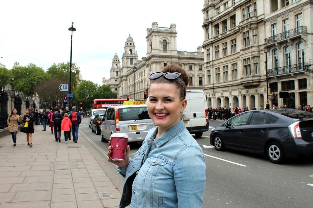 Exploring around Big Ben!