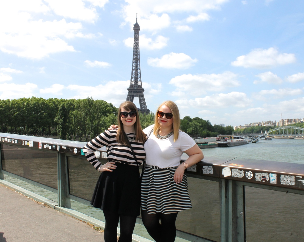 We were almost at the Eiffel Tower! Leanne and I were so excited to see it so close and we couldn't wait to get even closer.