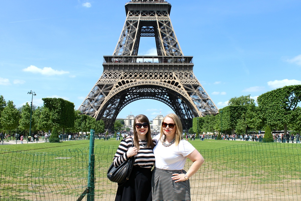 Leanne and I in front of the Eiffel Tower. What I wouldn't give to be back there right now.