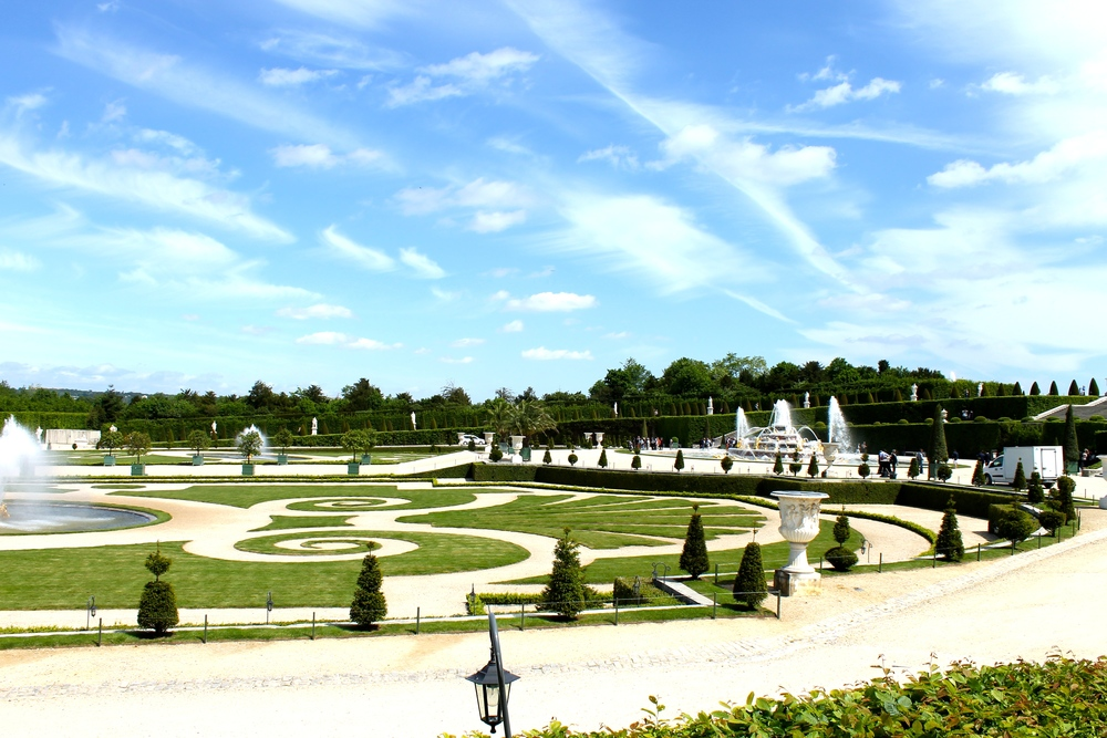 The gardens. I loved this place and all of its fountains.