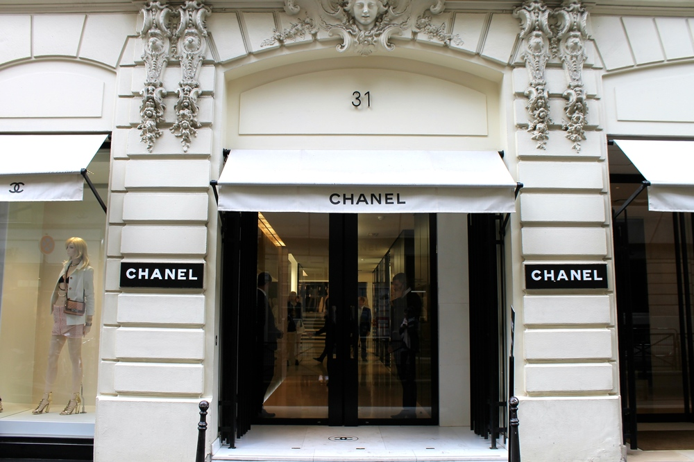 Finally found the Chanel flagship store after searching for hours!