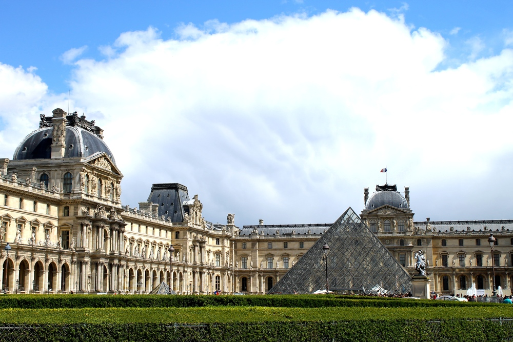 Our last day in Paris was spent wandering and enjoying our time. We found the Louvre and it was kind of amazing to see it in person.
