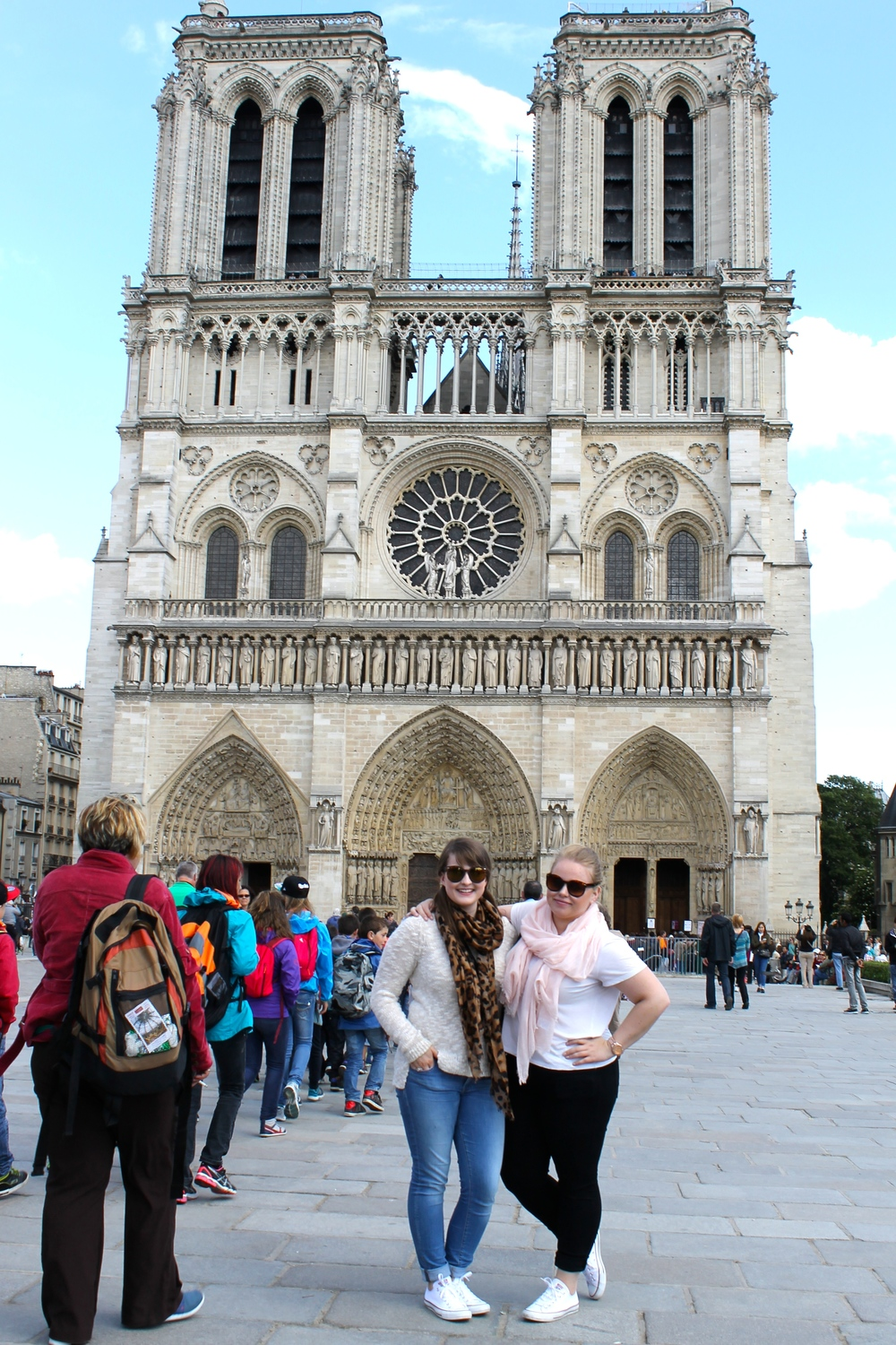 Notre Dame Church! It was amazing as well. I am so glad I was able to see all of these places. So truly thankful!