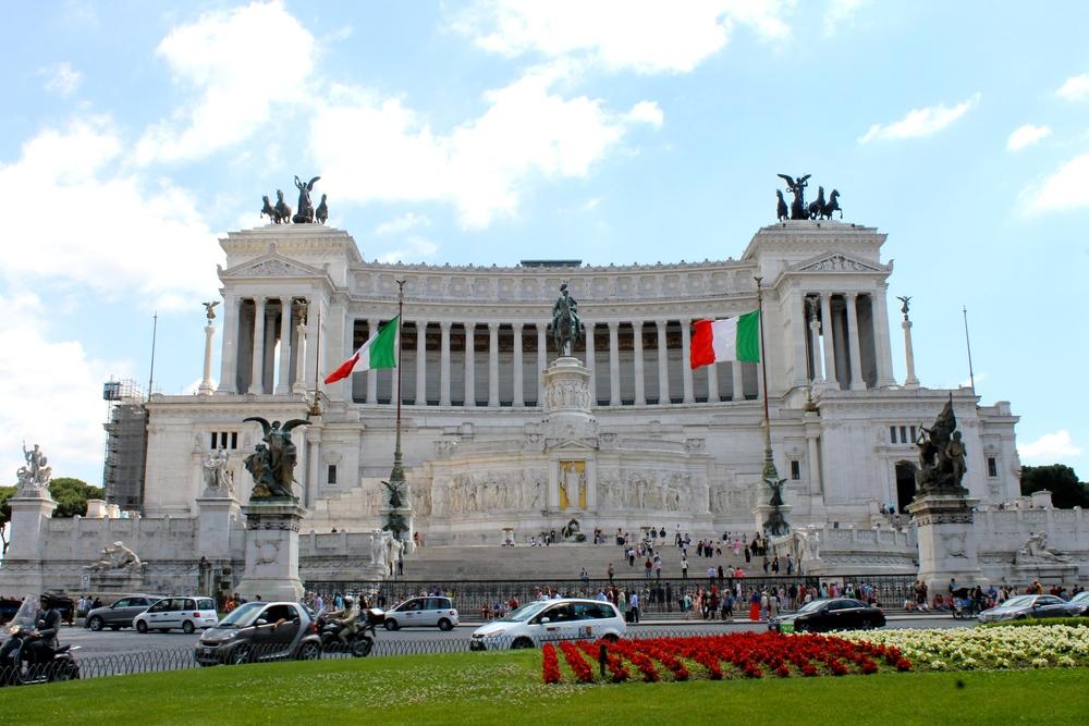 Altare della Patria. Simply amazing.