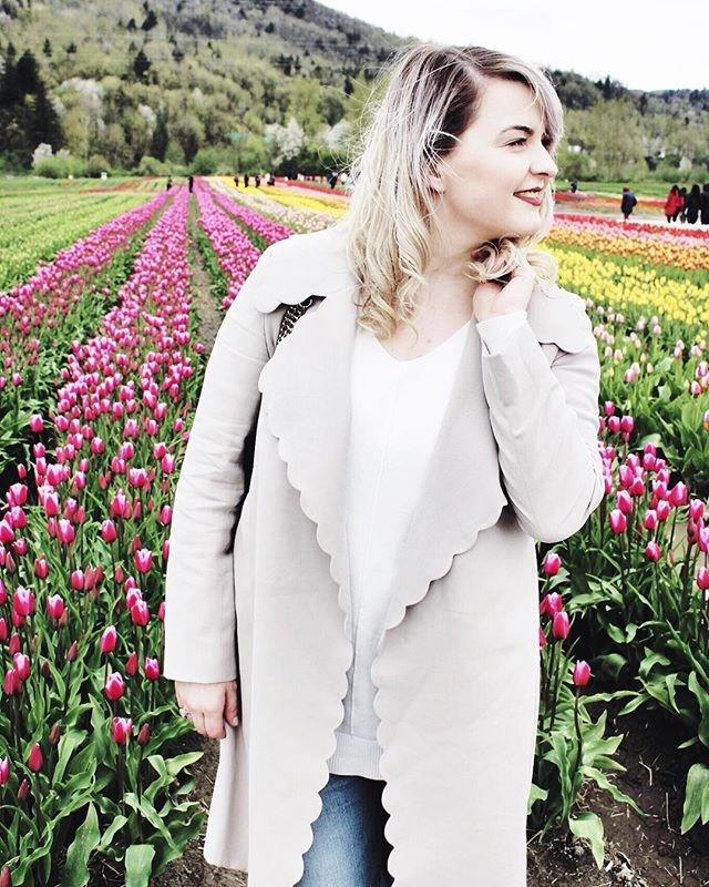 Can't wait for the weather to warm up a bit more so I can go to the tulip festival again this year 💐