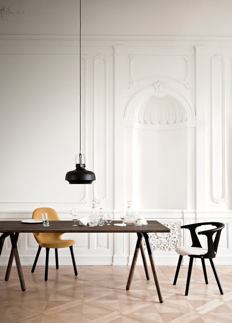 Detail Collective | Copenhagen Light | Designed by Space Copenhagen for &Tradition | via Dezeen
