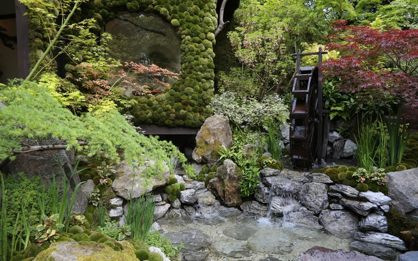 Detail Collective | Chelsea Flower Show 2014 | Togenkyo - A Paradise on Earth designed by Kazuyuki Ishihara - Artisan Garden | Photo: Martin Pope for The Telegraph