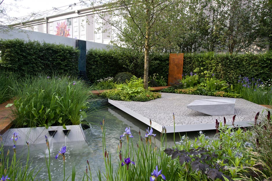 Detail Collective | Chelsea Flower Show 2014 | Waterscape Garden designed by Hugh Bugg  | Photo: RHS