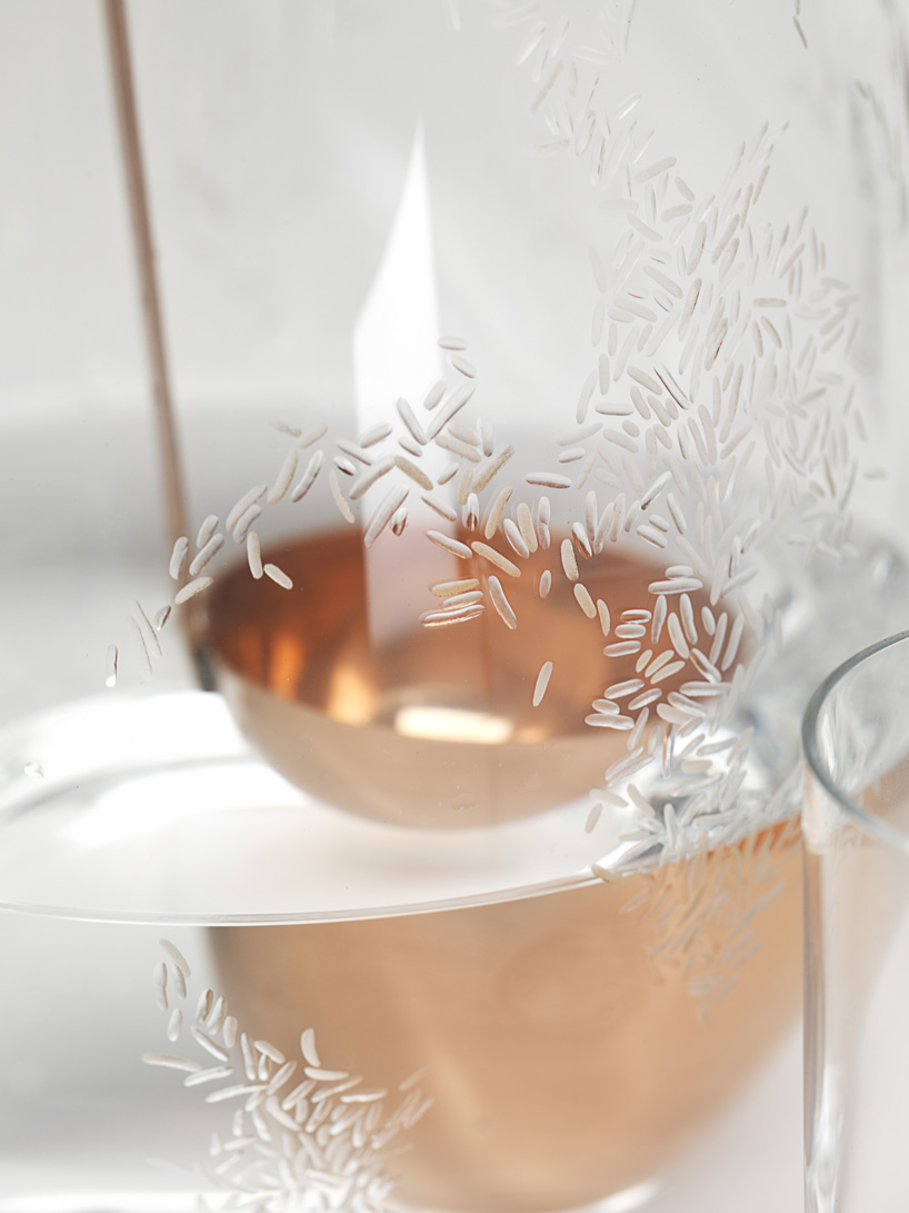 Detail Collective | Formafantasma Still Glass Tableware | Image: Formafantasma