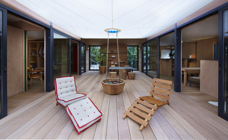 Detail Collective | Lost Holiday Home Charlotte Perriand & Louis Vuitton | Image Wallpaper