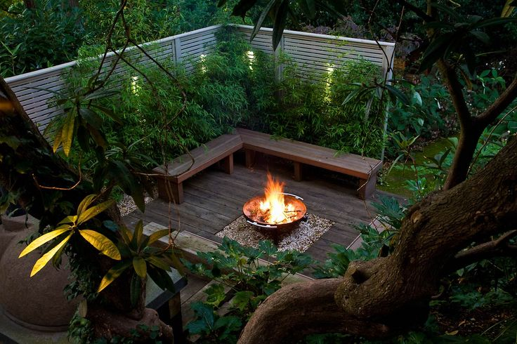 Detail Collective | Fire-pit Fantasy | Image:  Anthony Paul Landscape Design