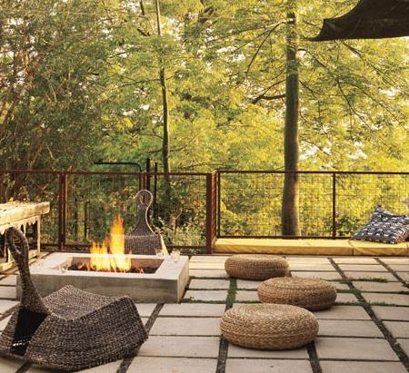 Detail Collective | Fire-pit Fantasy | Image:  Bestor Architecture