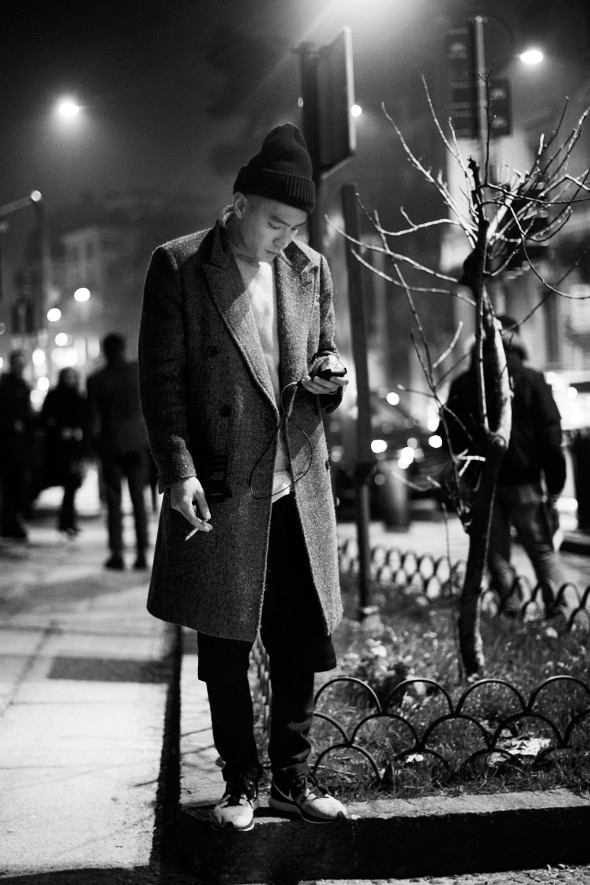 Detail Collective | On the Street...Late Night, Milan | Images via The Sartorialist