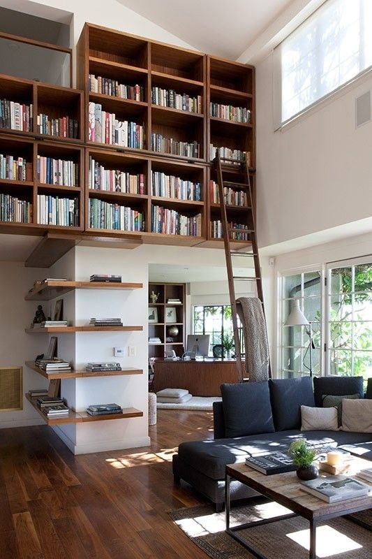 Detail Collective | Lifestyle - Bookcase Chic | Image: Maryan Novel via Pinterest