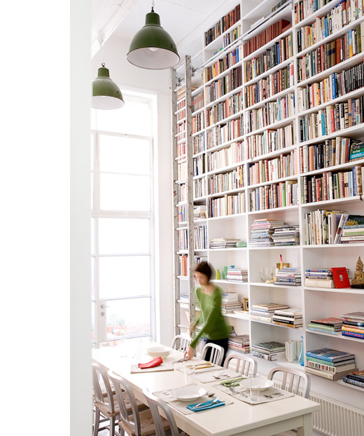 Detail Collective | Lifestyle - Bookcase Chic | Designer Diane Bergeron | Image:    The Design Files