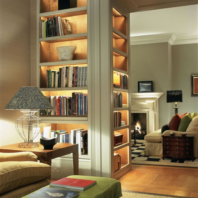 Detail Collective | Lifestyle - Bookcase Chic | Image:  South Shore Decorating Blog
