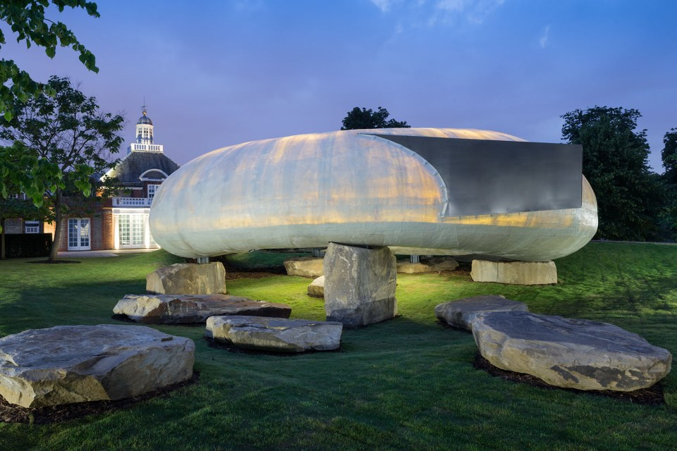 Detail Collective | Outside Spaces | The Serpentine Pavilion 2014 | Image:  The Serpentine Galleries .