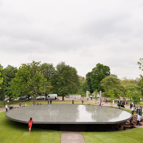 Detail Collective | Outside Spaces | The Serpentine Pavilion 2012 | Image:  Dezeen