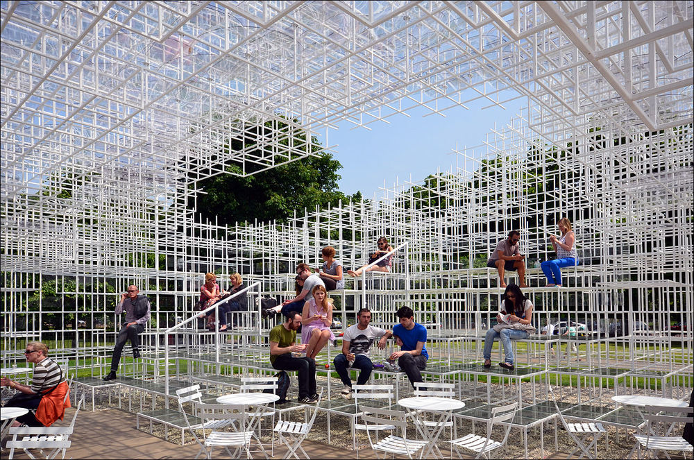 Detail Collective | Outside Spaces | The Serpentine Pavilion 2013 | Image:  Wikipedia