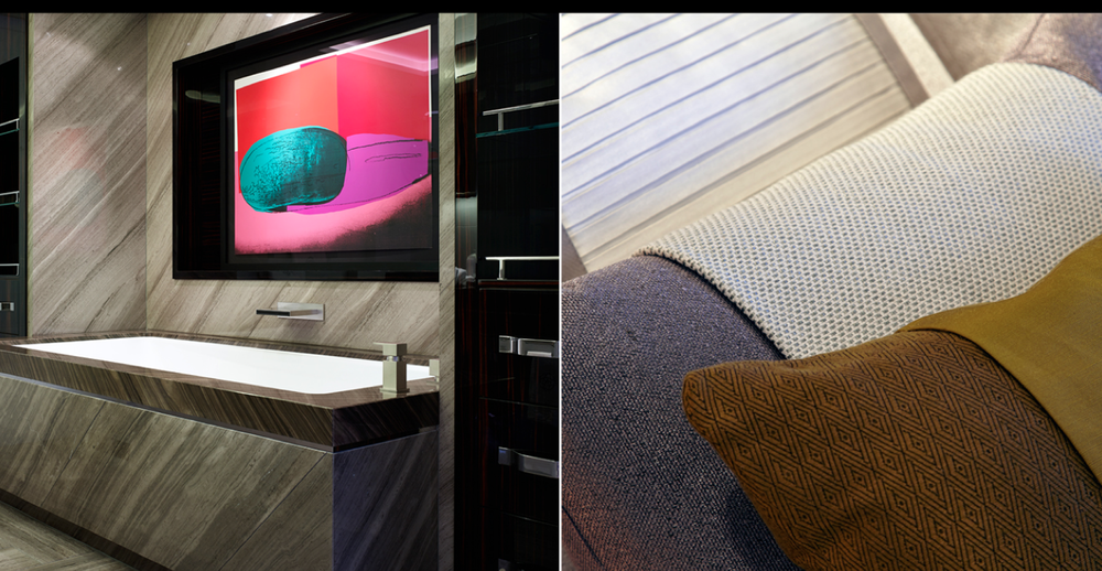Detail Collective| Luxury Yacht Interiors-Galactica Star | Images viaBannenberg & Rowell