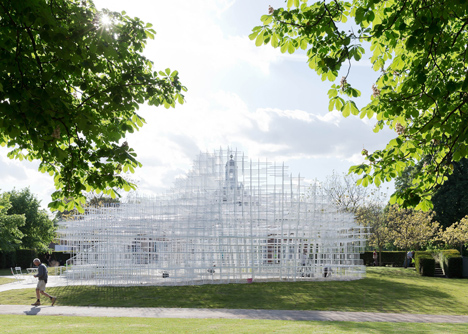 Detail Collective | Outside Spaces | The Serpentine Pavilion 2013 | Image: Dezeen
