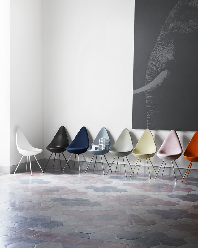 Detail Collective | Products | The Drop Chair by Arne Jacobsen | Image: Fritz Hansen