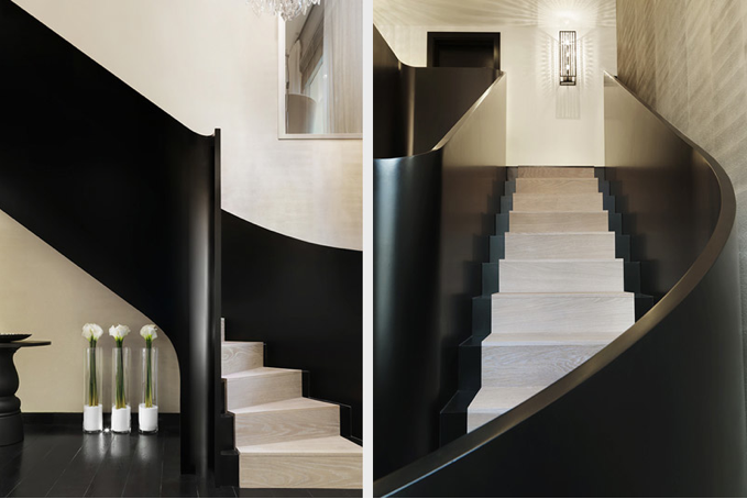 Detail Collective  | Share the Love | Bold & Classy Staircase |  Kelly Hoppen Interiors