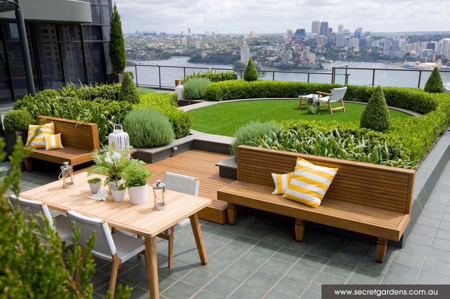 Detail Collective | Outdoor Spaces | Sydney Rooftop Garden | Image Secret Gardens