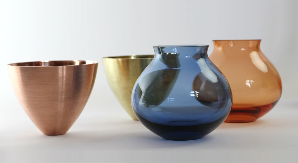 Detail Collective | Products | Copper & Brass Stacking Vessels | Product and images via Utopia & Utility
