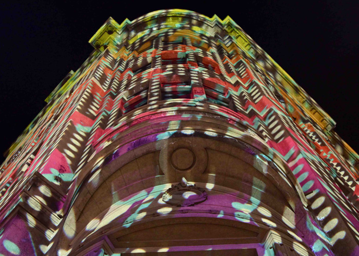 Detail Collective | Gertrude Street Projection Festival 2014 | Images via GSPF