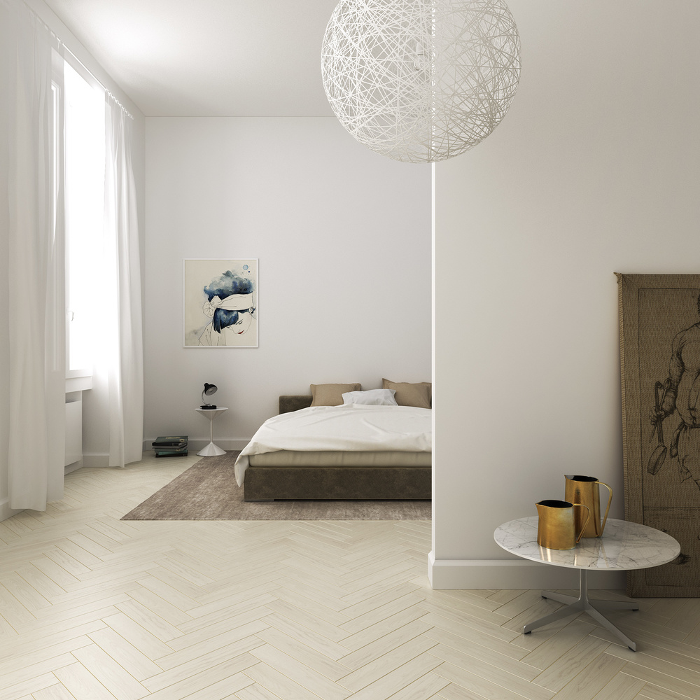 Interior spaces florence apartment by filippo carandini for Interior design jobs in florence italy