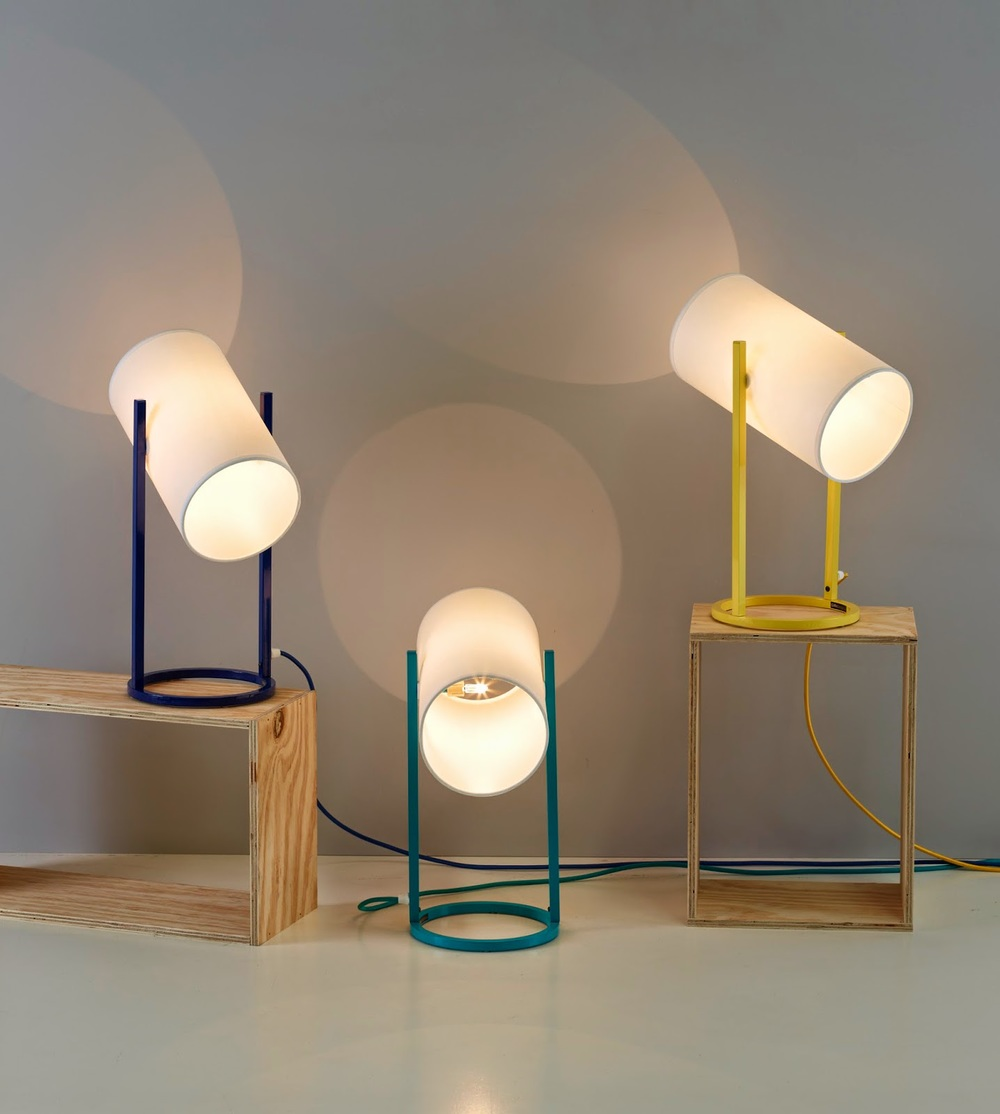Detail Collective  | Oko Lamps powder coated by  Giffin Design