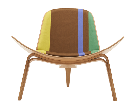 Detail Collective | 100th anniversary collection Hans J Wegner | Paul Smith & Maharam | Image: Carl Hansen