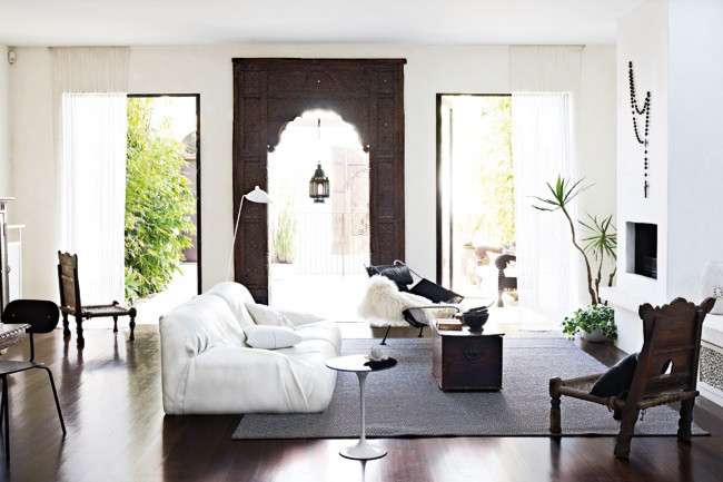 Detail Collective | Moroccan Influenced Interiors | via Homelife | images by Mark Roper | Styling by Glen Proebstel