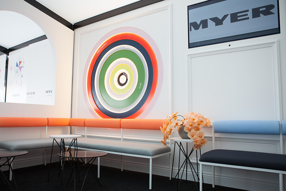 Detail Collective | Lifestyle | Melbourne Cup Carnival Marquees 2014 | Myer Marquee | Image: Myer