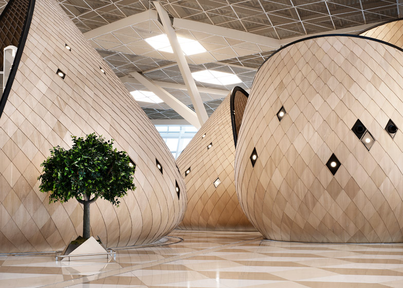 Detail Collective | Interior Spaces | Heydar Aliyev International Airport by  Autoban Studio  | Image:  Kerem Sanliman