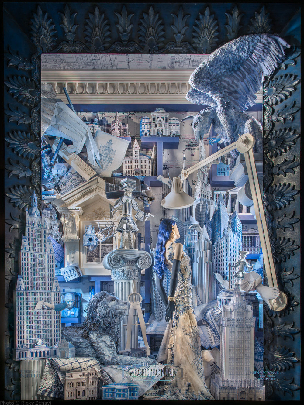 Detail Collective | Lifestyle | Christmas Windows 2014 | Image:  Bergdorf Goodman