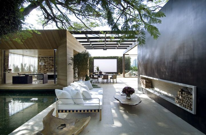 Detail Collective | Lifestyle | Indoor/Outdoor Spaces | Designed by Fernanda Marques | Images via HomeDSGN