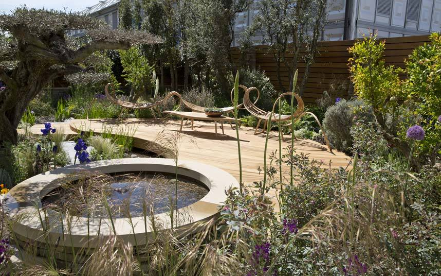 Detail Collective |   The Chelsea Flower Show 2015 | Royal Bank of Canada Garden by Matthew Wilson | Image: Heathcliff O'Malley