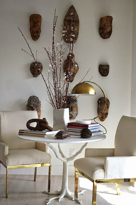 Detail Collective | Interior Spaces | Modern Tribal | Image: via Mimosa Lane