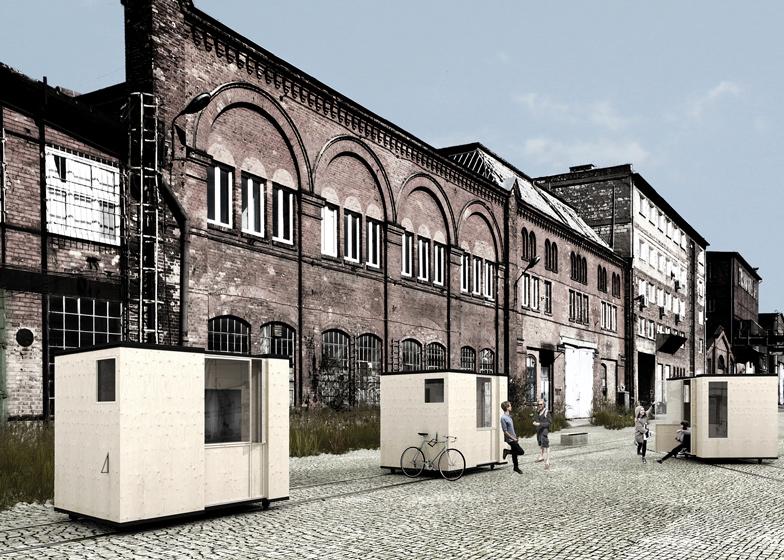 Detail Collective | Lifestyle | Low Cost Housing | Image: Railway Micro Home/Zablotny &Maszotavia Dezeen