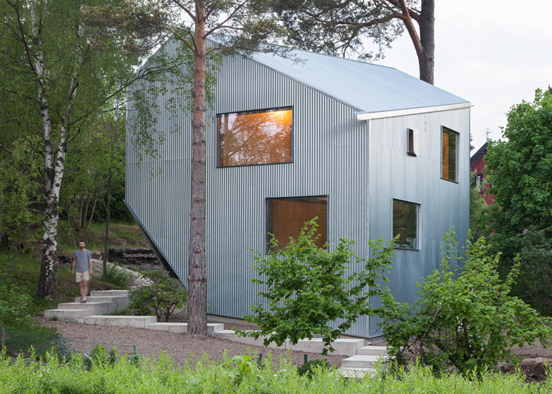 Detail Collective | Lifestyle | Low Cost Housing |  Image: Happy Cheap House/Tommy Carlsson via Dezeen