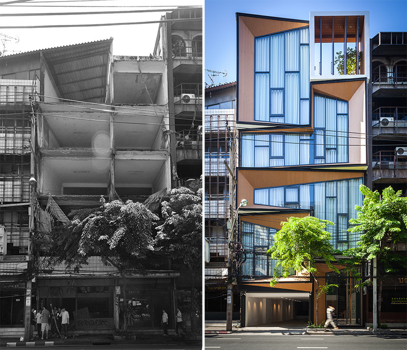 Detail Collective | Lifestyle | Thai Design | Bangkok Transformation | Image: via Contemporist