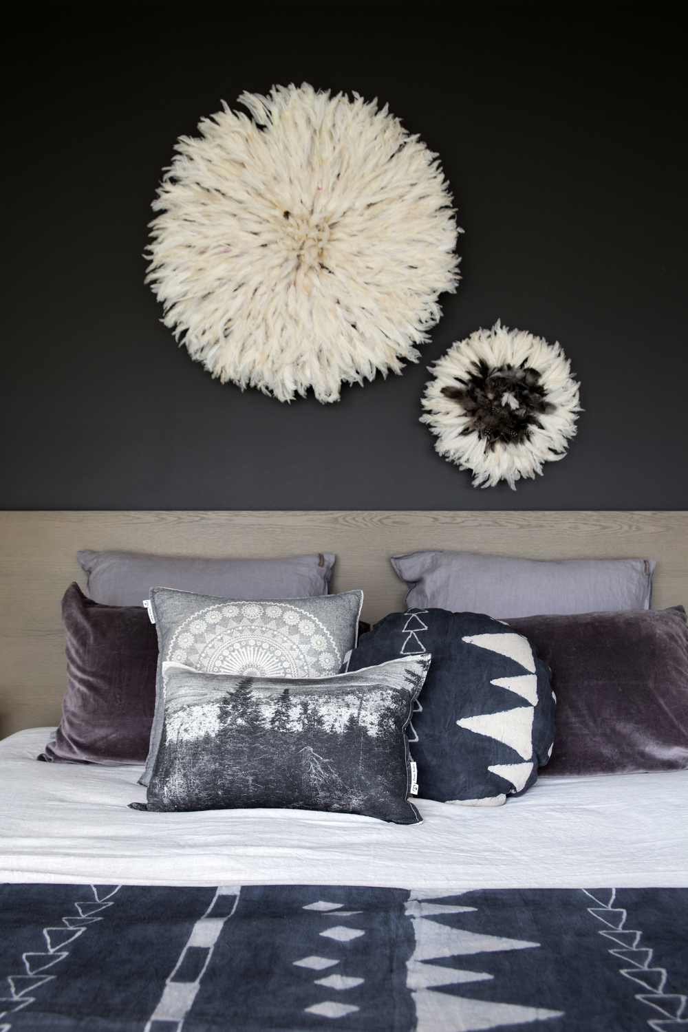 Detail Collective | Interior Spaces | Back to Black in the Bedroom | Project: Detail Collective | Image: Lisa Atkinson