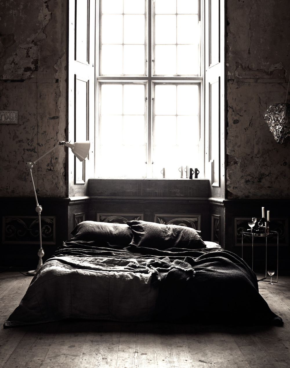Detail Collective | Interior Spaces | Back to Black in the Bedroom | Image: Daily Design Collector