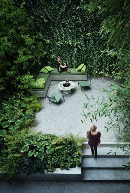 Detail Collective | Outside Spaces | No-Grass Gardens | Image/Design: Rees Roberts & Partners