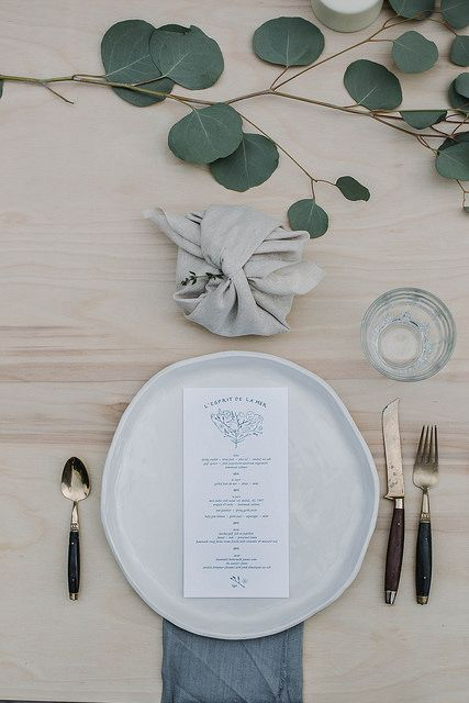 Detail Collective | Lifestyle | Holiday Entertaining - Table Design | Image: Kinfolk via  Local Milk