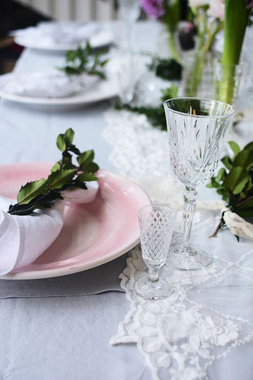 Detail Collective | Lifestyle | Holiday Entertaining - Table Design | Image: via  Lovely Life